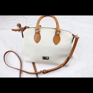 Dooney and Bourke White Leather Bag